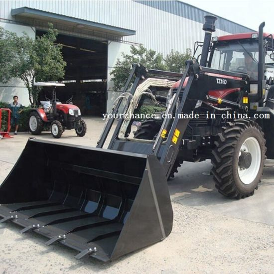 High Quality Tz16D 140-180HP Wheel Farm Tractor Mounted Front End Loader with 2.6m Width Standard Bucket for Sale pictures & photos