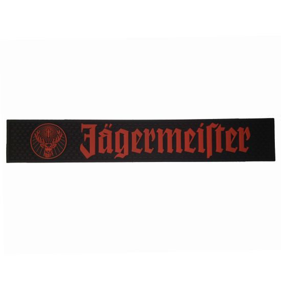 Custom Embossed Jagermeister Brand PVC Bar Mat pictures & photos