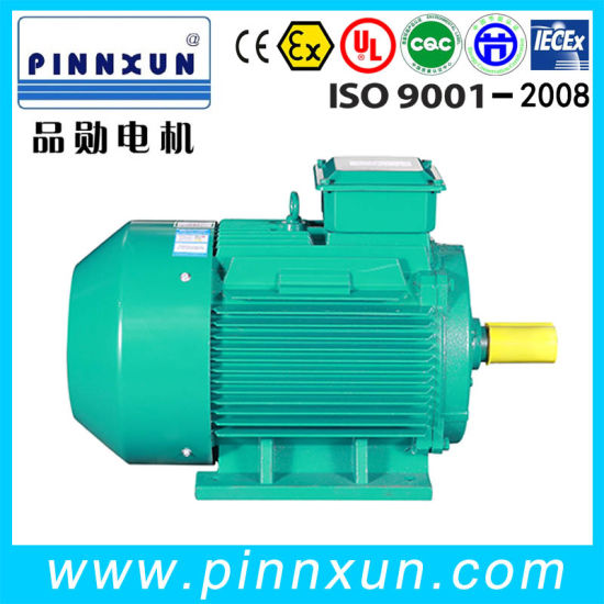 3 Phase Asynchronous AC Motor Vacuum Air Compressor Blower Pump Induction Fan Motor pictures & photos