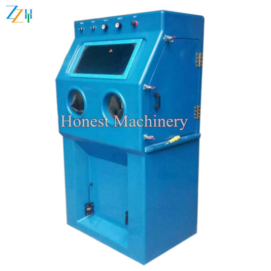 Full Automatic Portable Sand Blasting Machine pictures & photos