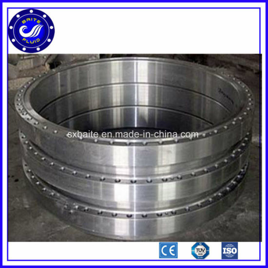 China Supply Wind Tower Ring Forging Flange pictures & photos