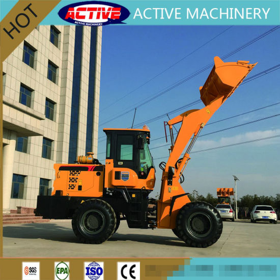 Hot Sale Ce Approved 1.8 Ton AL918C Front Loader with 76kw YN38GBZ Engine pictures & photos