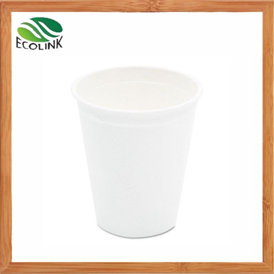 9oz / 260ml Disposable Sugarcane Bagasse Cup pictures & photos