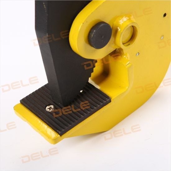 Hot Seller Dl -Type Horizontal Plate Clamp Lifting Clamp pictures & photos