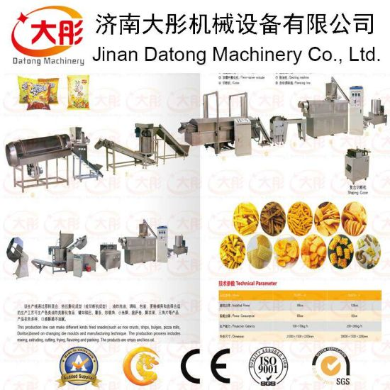 Fried Crispy Rice Snack Food Processing Line pictures & photos