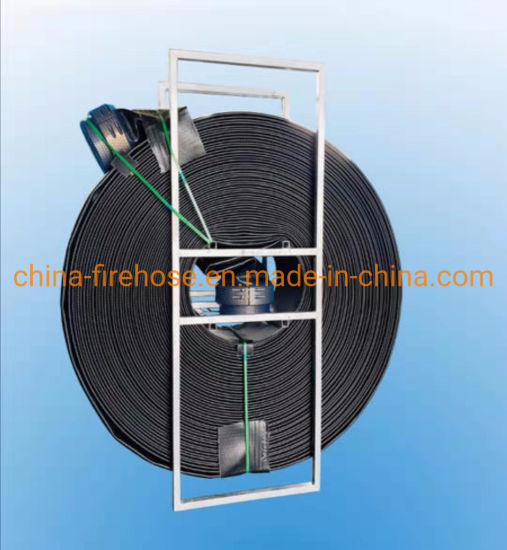Cheap Price 200m Length 12 Inch Size Fire TPU Hose Reel Manufacturer pictures & photos