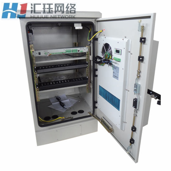 Floor Mounting Outdoor Telecom Telecommunication Cabinet pictures & photos