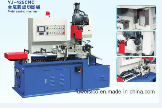 Sharp Cut Brand - 425 CNC Circular Saw Machine for Cutting All Kinds of Metal Tubes & Profiles. pictures & photos