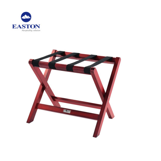 Hotel Wooden Fodalble Luggage Rack with High Quality pictures & photos