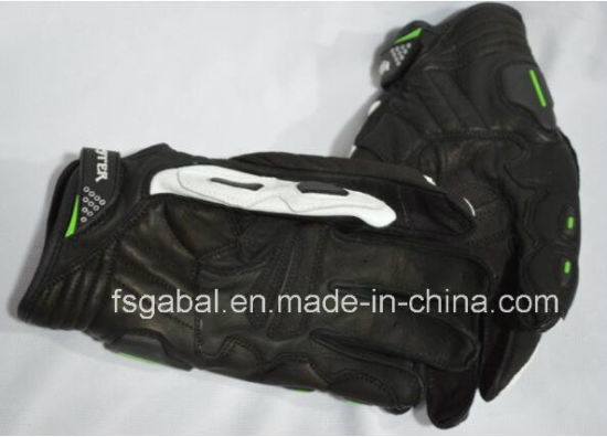 Racing Motorcycle Leather Sports Gloves pictures & photos