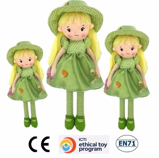 Custom High Quality Stuffed Plush Girl Dolls OEM Cute Plush Rag Doll for Sale pictures & photos
