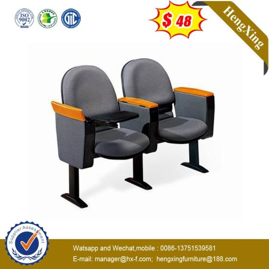 New Design Large Classroom Auditorium Training Wooden Chair pictures & photos
