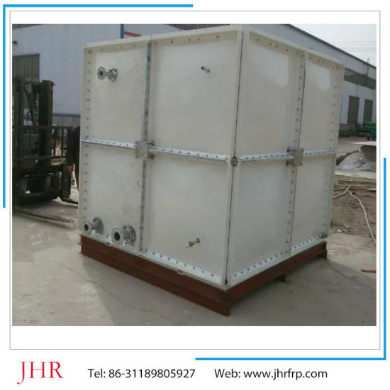 FRP Heat Resistant Portable Rectangular Square Water Storage Tank pictures & photos