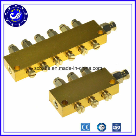 Adjustable Air Pneumatic Oil Manifold Distributor pictures & photos