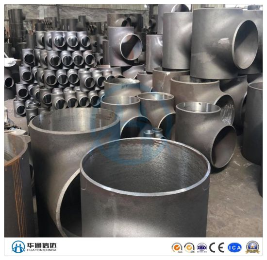 ASME B16.9 A420 Wpl6 Carbon Steel Pipe Fitting Equal Tee with Ce (KT0039) pictures & photos
