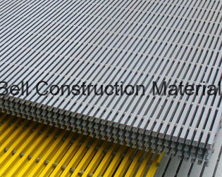 FRP Pultruded Gratings, Pultrusion Safety Gratings, Fiberglass/GRP Bar Grating. pictures & photos