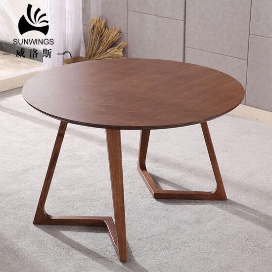 Modern Solid Wood Dining Table for Dining Room pictures & photos
