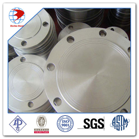 Forged Blind Flange 600lb ASTM A182 F304 Stainless Steel Flanges pictures & photos