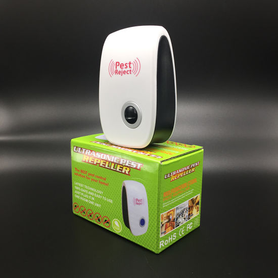 EU/US/UK/Au Plug Electronic Pest Repeller Ultrasonic Anti Insect Pest pictures & photos
