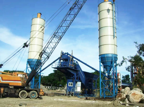 Mobile Concrete Batching Plant (YHZS60) pictures & photos