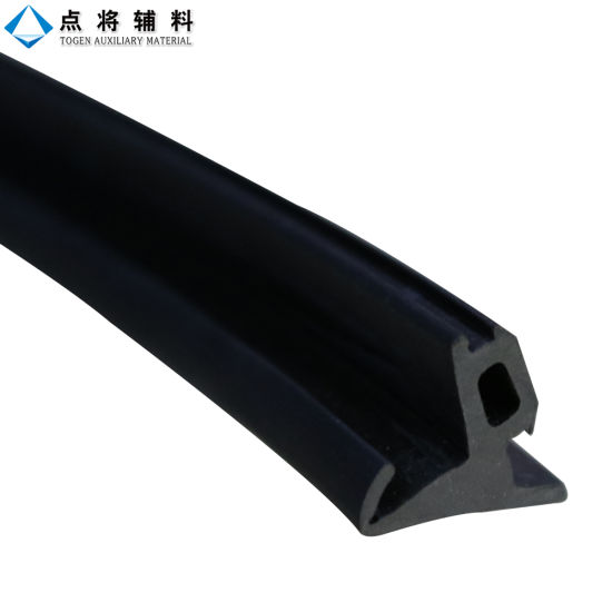 EPDM P Strip Glass Door Rubber Seal pictures & photos