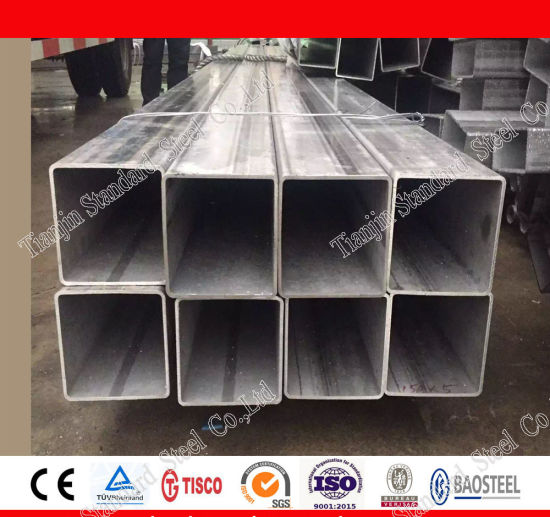 AISI 316 Stainless Steel Square/ Rectangular Pipe pictures & photos