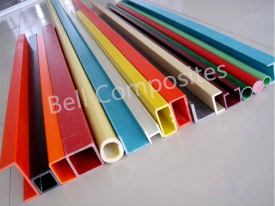 Fiberglass Structural Profiles, FRP Pultrusions, GRP Pultruded Shapes. pictures & photos