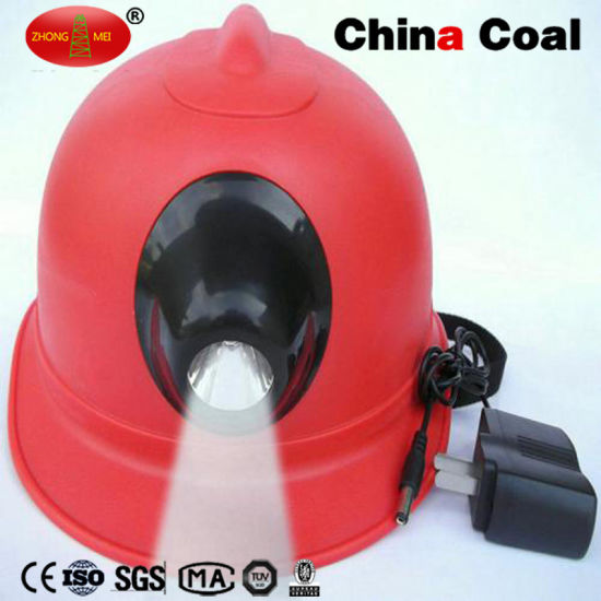 China Coal Sm2022 Aluminum Alloy Miner Safety Helmet pictures & photos