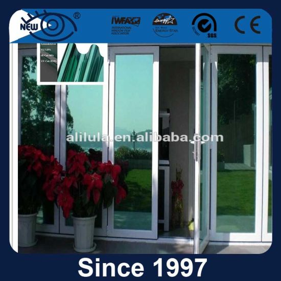 Polyester Anti-Glare Reflective Solar Window Tint Film for Building Glass pictures & photos