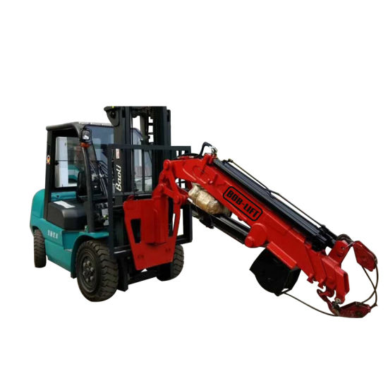 Portable Hydraulic Small 2 Ton Forklift Jib Crane Attachment pictures & photos