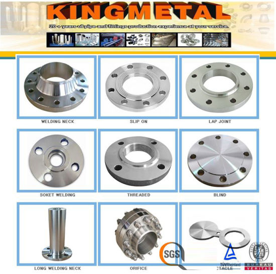 ANSI B16.5 304/316 Stainless Steel Forged Flange RF/FF pictures & photos