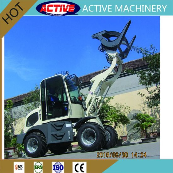 AL908 0.8ton Mini Wheel Loader with Xinchai 490 36.8kw engine pictures & photos