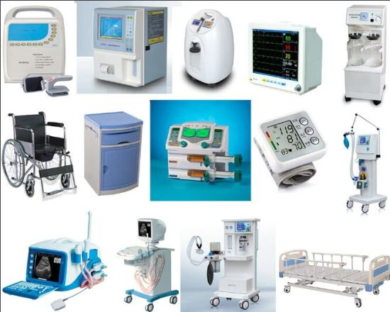 Hospital Syringe Pump Equipment with Double Channel pictures & photos