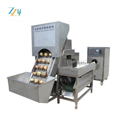 Onion Peeling and Root Cutting Machine pictures & photos