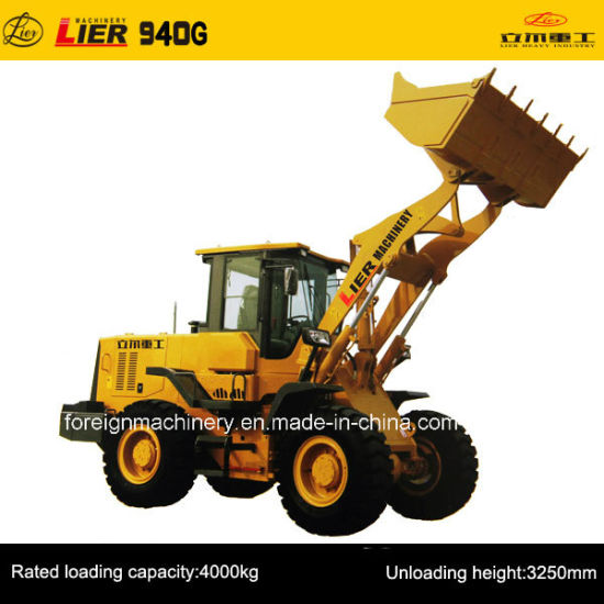 Wheel Loader for High Quality (Lier -940G) pictures & photos