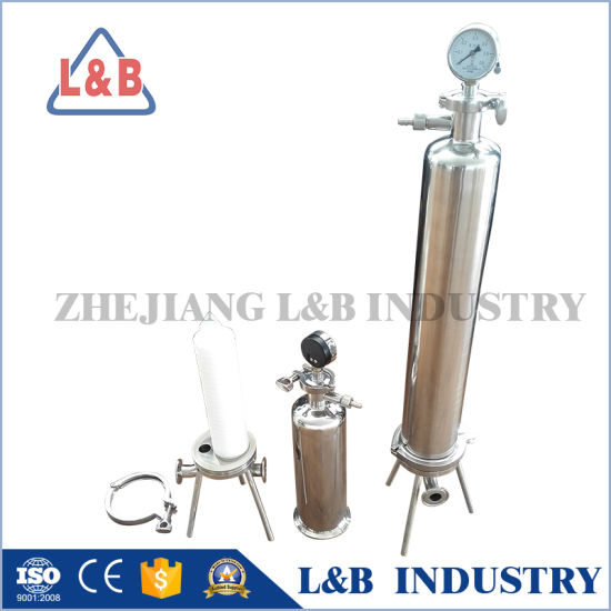 Sanitary Stainless Steel Water Filter Housing pictures & photos