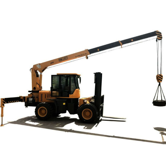 Specialist Lifting Forklift with Crane for Sale pictures & photos