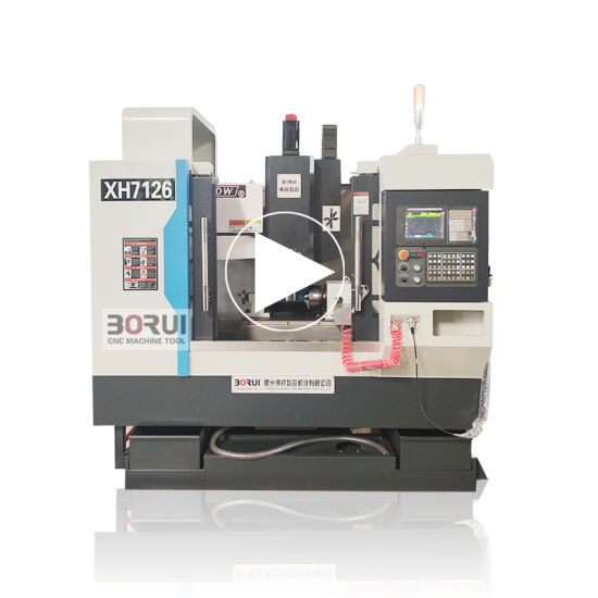 Xh7126 Used Universal Hobby 3axis 4axis CNC Milling Machine Center pictures & photos
