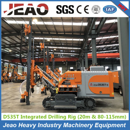 Integrated Rock Blasting Drilling Rig with Air Compressor for Mining pictures & photos