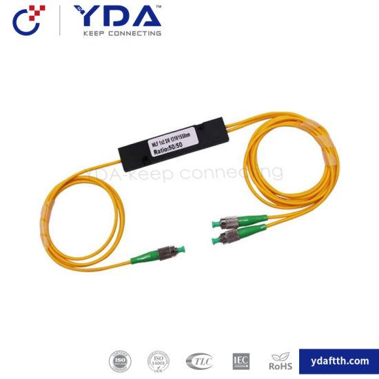 FTTH Wdm Splitter FC/APC 1*2 Sm 1310/1550mm Balanced Optical Coupler Fbt Coupler pictures & photos