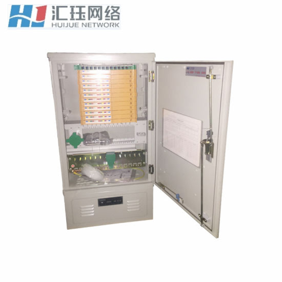 144 Core SMC Fiber Cross Connect Cabinet with Plug-in Type Splitter Available pictures & photos