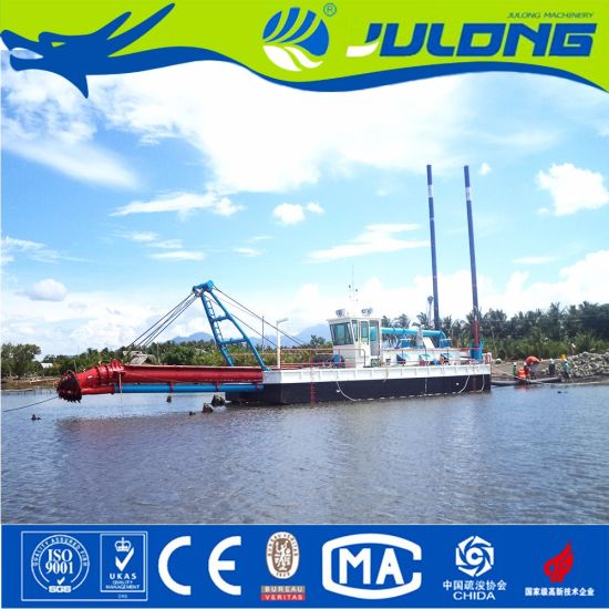 Hydraulic Type River Sand Suction Dredger/Cutter Suction Dredger for Sale pictures & photos