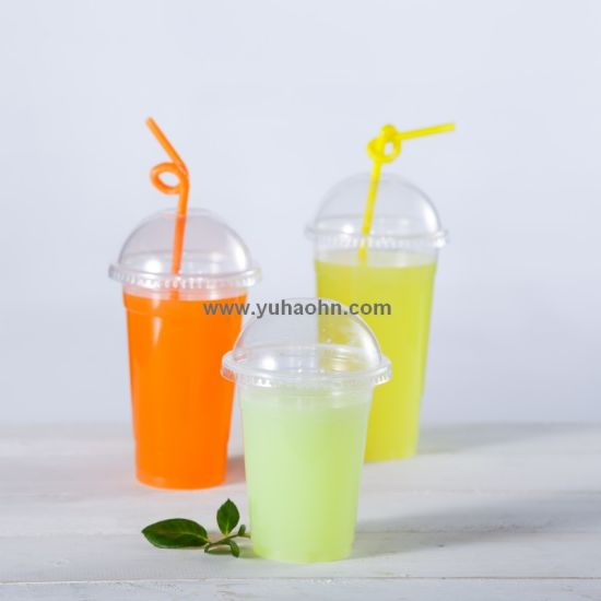 Cheap Price PP Plastic Cups for Milktea Drinking pictures & photos