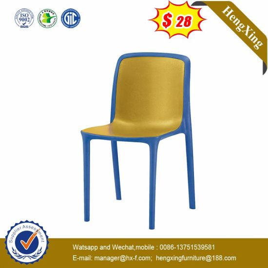Modern School Waiting Dining Metal Plastic Conference Chair pictures & photos