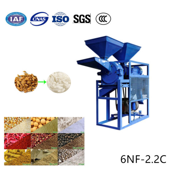 Mini Paddy Rice Milling Husk Grinder Wheat Maize Corn Flour Grinding Grain Hammer Mill pictures & photos