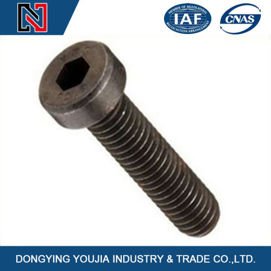 Carbon Steel Hex Socket Cheese Head Screw pictures & photos