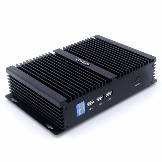 Intel Core I7 Mini PC Windows 10 for Industrial Computer Broadwell Processor RS232 pictures & photos