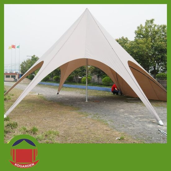 Star Shaped Shelter for Outdoor Event with Printing pictures & photos
