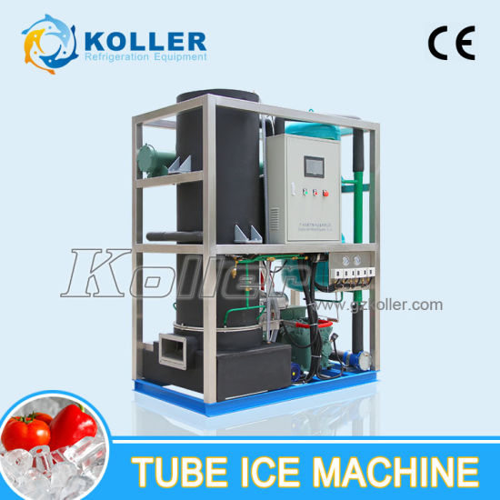 5000kgs Stable Capacity for Human Consumption Tube Ice Maker pictures & photos