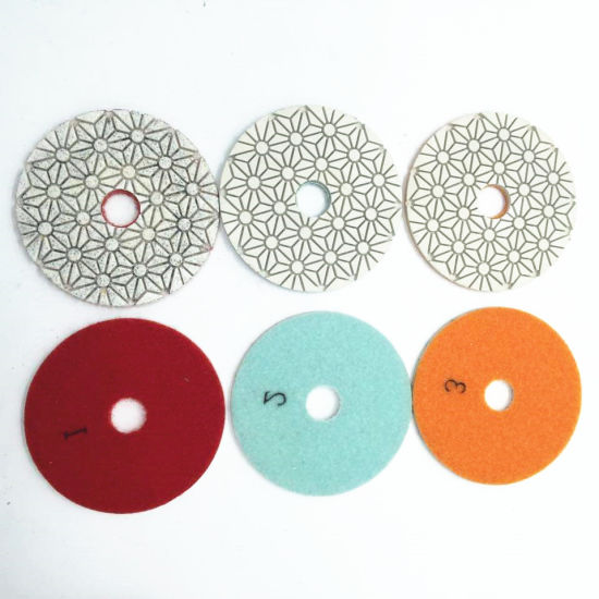 3 Steps Wet Used Resin Polishing Pads pictures & photos